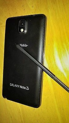awesome Samsung Galaxy Note 3 SM-N900T - 32GB - Black (T-Mobile) Smartphone - For Sale