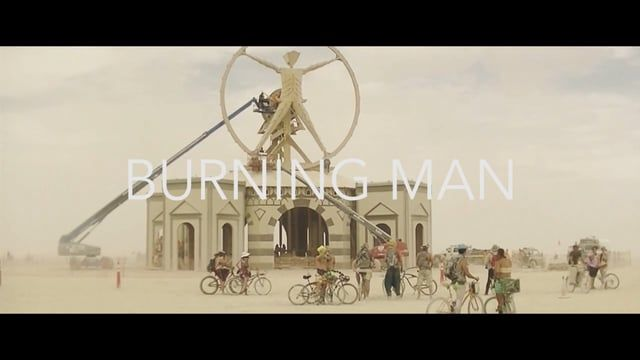 Video about the 2016 edition of the Burning Man Festival.