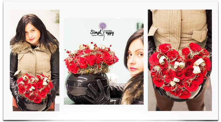Love in a Pot by Simply Happy www.facebook.com/faitamain www.simplyhappy.ro