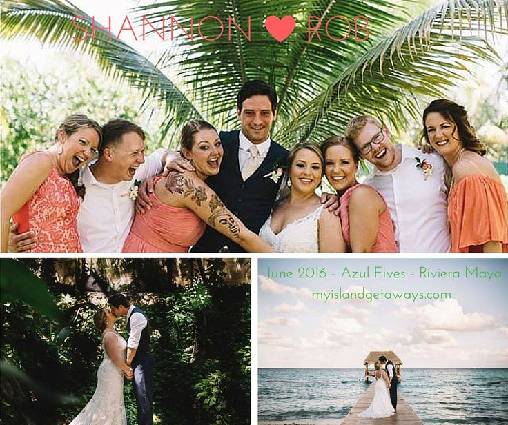 """Nancy's relationships with the resort and Lomas proved to be incredibly important. She surprised my husband and I with a limo upgrade hotel transportation and secured room upgrades for our ENTIRE group. The resort knows when an Island Getaway group is coming and you are treated like VIP."" myislandgetaways.com #destinationwedding #honeymoon #rivieramaya #mexico #travel #beach"