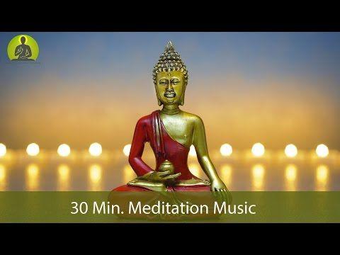30 Min. Meditation Music for Positive Energy - Inner Peace Music, Healing Music, Relax Mind Body - YouTube