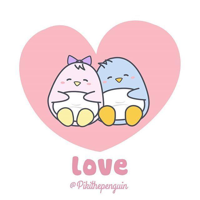 Piki is in love !!  #Piki #pikithepenguin #penguins #penguinslover #lovepenguins #pet #kawaii #kawai #cute #romance #love #girls #heart #pusheen #cuddly #tierno #romance #amor #boyfriend #girlfriend #sanvalentin #saintvalentin #animals #loveanimals