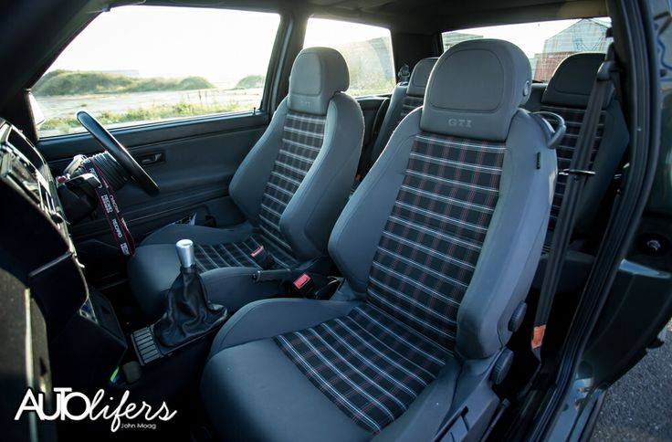 Mk5 gti seats in a mk2 gti yes cool cars pinterest for Interior golf mk2