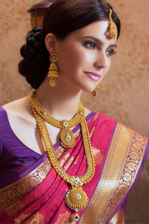 Indian bridal jewellery. #IndianFashion