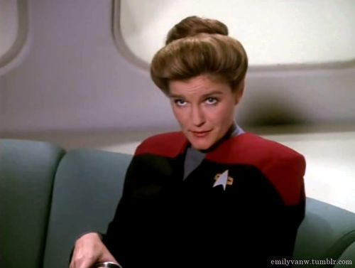 17 images about star trek tos voy ds9 on pinterest for Mirror janeway