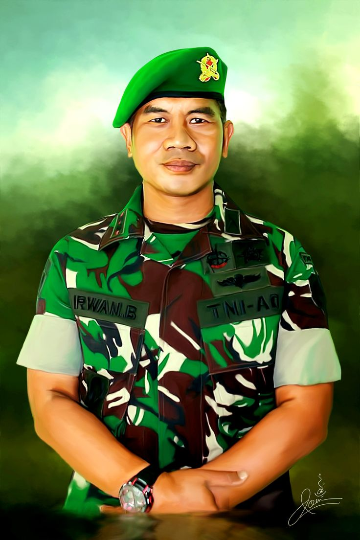 Indonesian Soldier by Joen@f