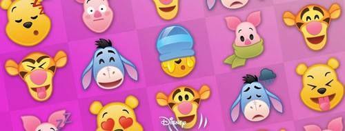 Celebrate World Emoji Day in a willy, nilly, silly way with Disney Emoji Blitz. Winnie the Pooh, July 2017