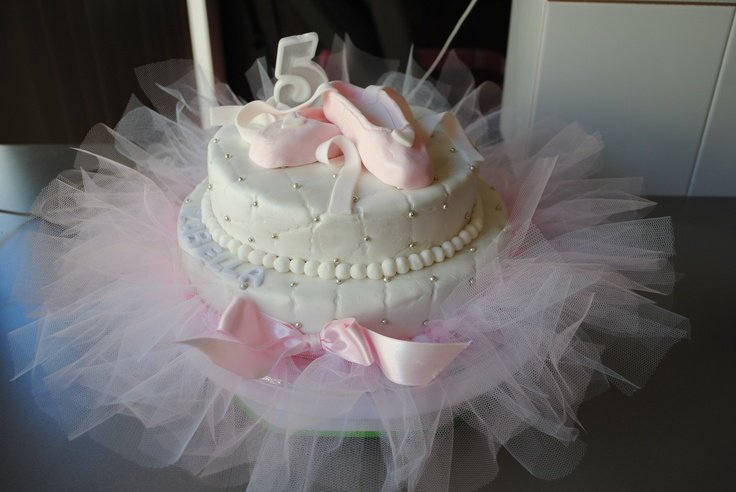 ballerina cake for my bestest and her baby shower