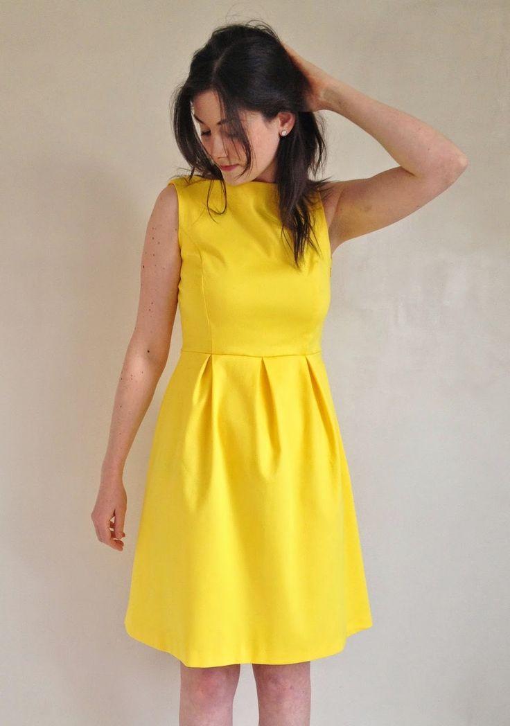 June Dress - LMV - stof Mon Depot
