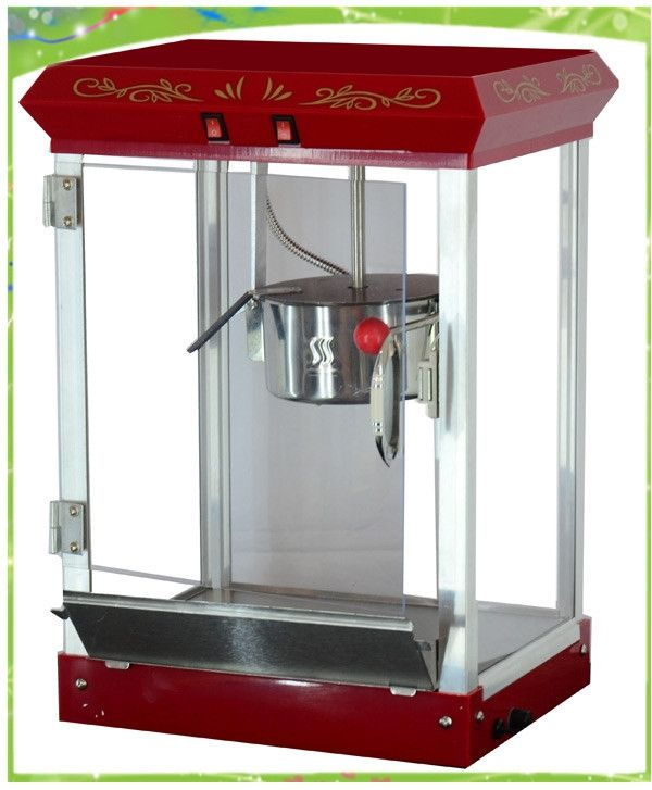 380.00$  Watch here - http://aliikf.worldwells.pw/go.php?t=32369588946 - automatic electric commercial 8oz popcorn machine