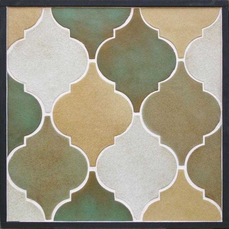 GB71 - Clay Arabesque Pattern 5a Malaga Blend