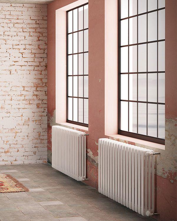Multicolonna | steel tubular radiators. #design #radiators #interiordesign #DLRadiators #inspiration #minimal #architecture