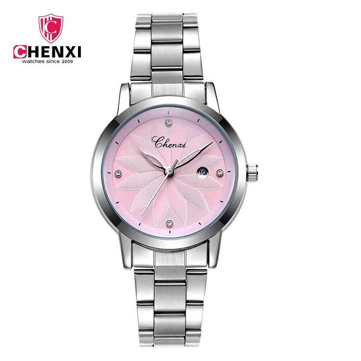 1d33f30e6a5 CHENXI New Fashion Women Watches Quartz Watch Stainless Steel Band Calendar  Casual - US  13.86