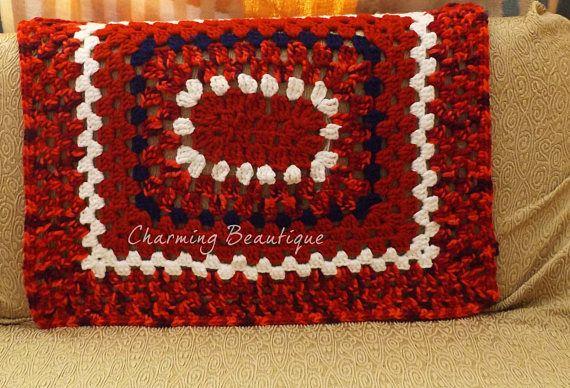 Crochet Blanket Wool Blanket Lap Blanket Weighted Blanket