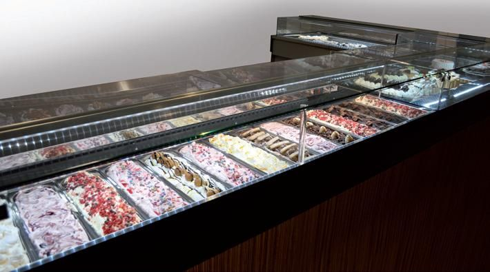 ice cream display cabinets & pastry display cabinets www.isaitaly.com