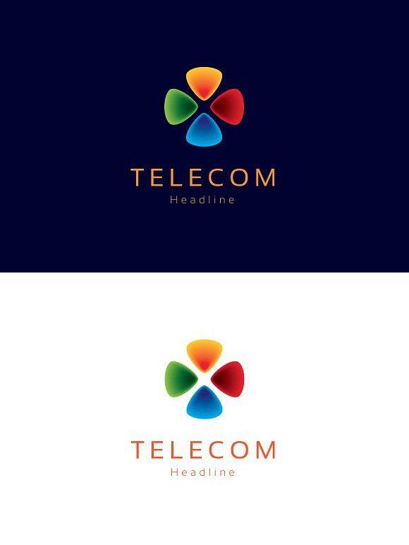 Telecom Logo Professional Logo Design Logo Design Logos
