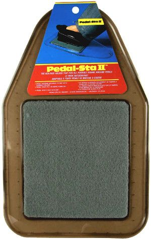 If you order the Pedal Sta II Sewing Machine Pedal Pad this week, you'll get a 35% discount. Instead of paying the original price of $16.99, you'll pay only $10.99 this week. Who wouldn't want to save a total of $6.00 on the Pedal Sta II Sewing Machine Pedal Pad?
