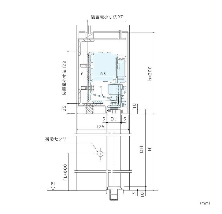 DSN-75 | 引き戸 | 商品一覧 | ナブコ自動ドア