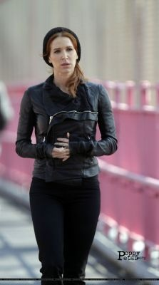 I so LOVE this Jacket.. I've seen her in it in brown as well. Poppy Montgomery from the show Unforgettable..