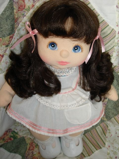 my child doll - very similar to the one I had when I was little (which I still have!)