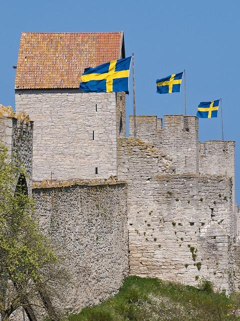 Sweden!    Visby, Gotland, Sweden.
