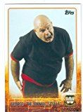#8: George Animal Steele trading card WWE WWF Wrestling 2015 Topps #90