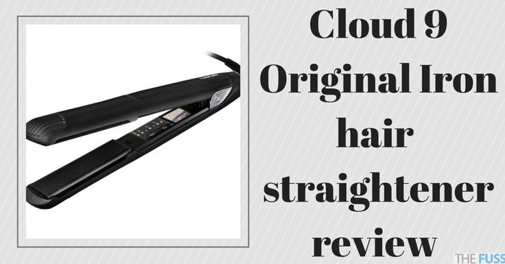 Cloud 9 hair straightener review