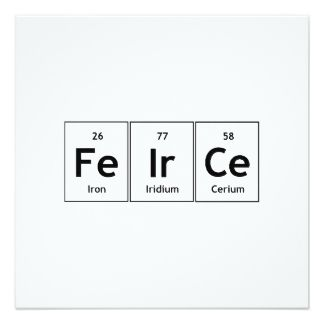 words you can spell with the periodic table of elements - Google Search