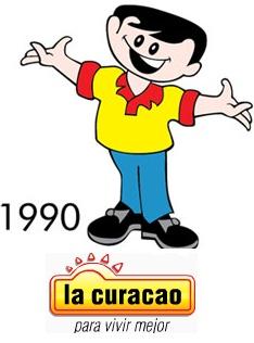 Facilito año 1990  Visita www.lacuracaonline.com    Conócenos. Historia La Curacao