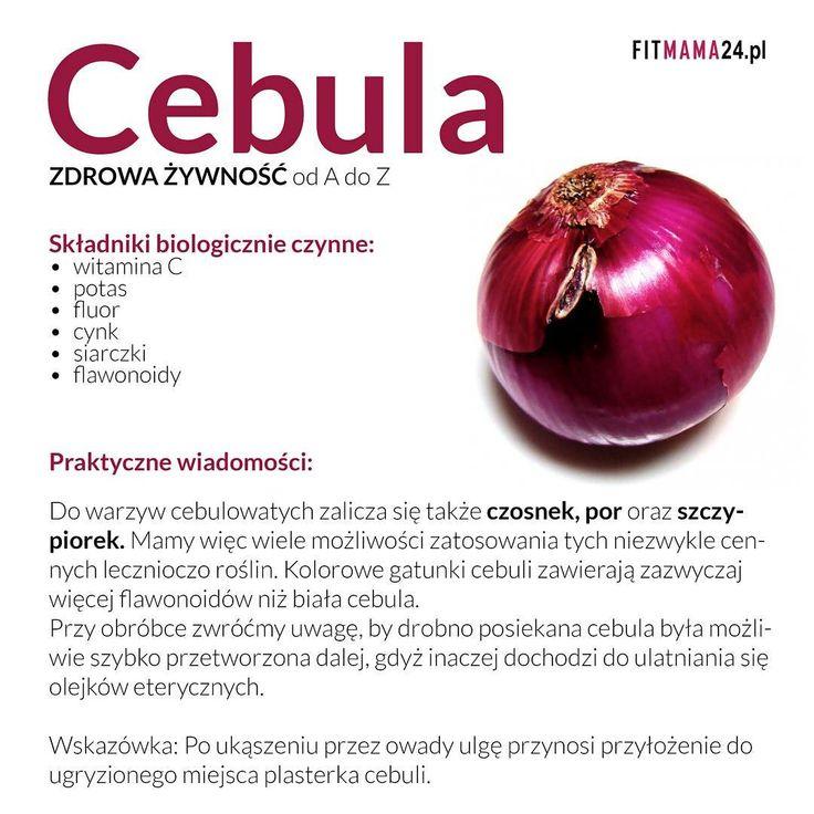 CebuLove informacje Ja niestety źle znoszę spożywanie cebuli. A jak u Was? #cebula #infografika #zdrowie #odżywianie