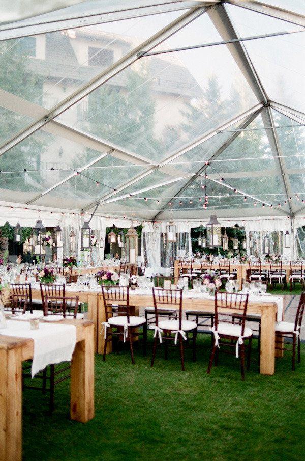 Colorado Mountainside Wedding From Sara Hasstedt. Clear TentWedding  Reception IdeasWedding ...