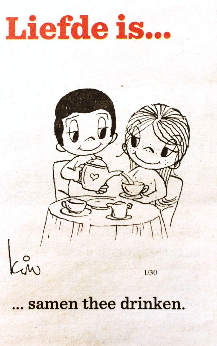 Thee: momentje om even helemaal tot jezelf te komen *Tea: Me-time ~Liefde is… Samen thee drinken~