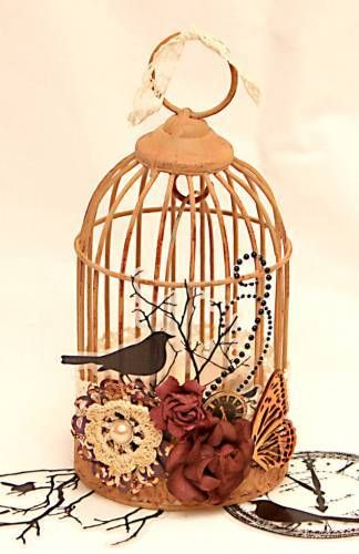 17 best images about bird cage candle holder on pinterest distressed dresser shabby chic and. Black Bedroom Furniture Sets. Home Design Ideas