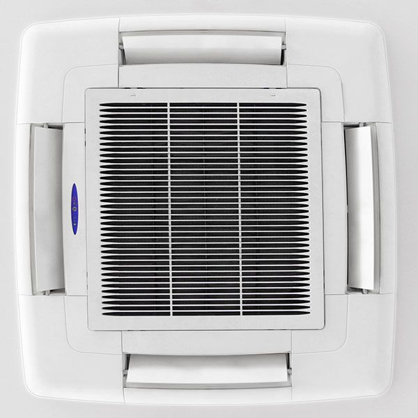 An electronic air cleaner is 40x more efficient than a standard throwaway filter in removing unwanted particles from your home. #HVAC #SummitCollege
