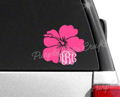 Best Decals I Like Images On Pinterest Vinyl Decals Monogram - Pink motorcycle helmet decalsplumeria flower with swirls and dots sticker car stickers