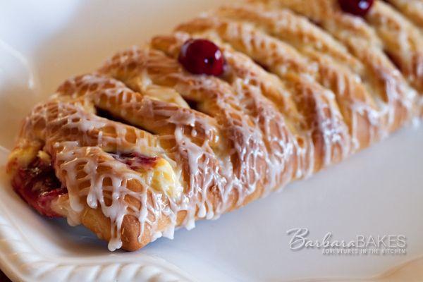 Cheese Lattice Danish Coffee Cake Recipe