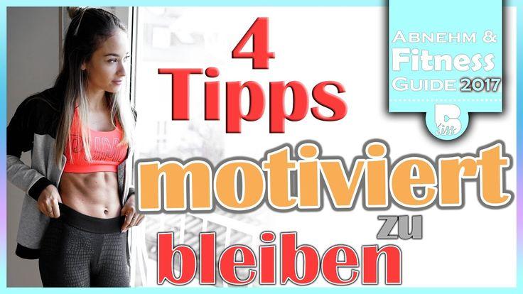 Erfolgreich abnehmen, fit werden und Muskeln aufbauen - Motiviert bleibe...