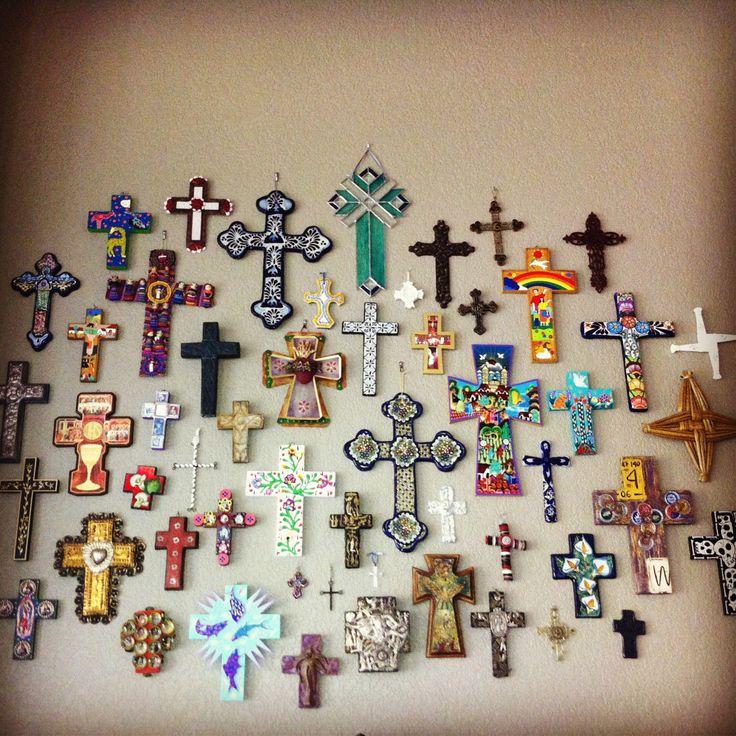 Cross collage