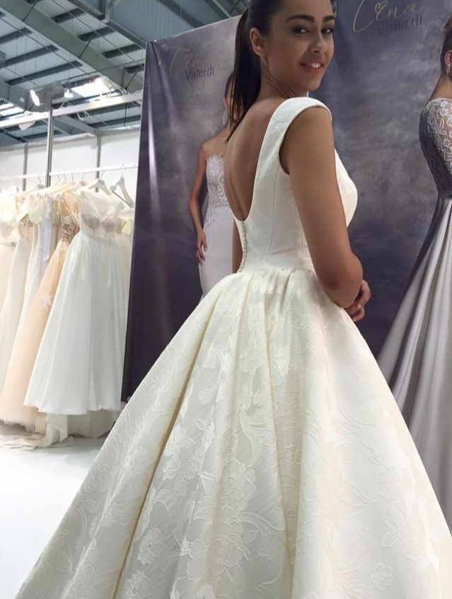 The choice of a wedding dress is an important task for any bride!  Each girl dreams about perfect dress, that will emphasize the dignity of her figure and help to create a festive atmosphere!  A large selection of wedding dresses and accessories on our website www.tinavalerdi.com #tinavalerdi