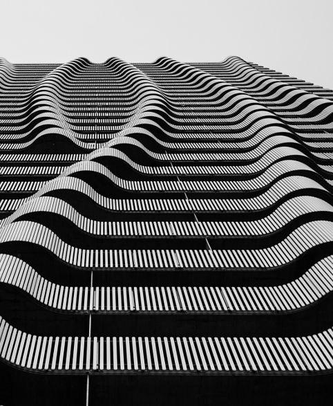 Architecture we like / parametric / alcony/  organic / blackandwhite / Structurele/ at Manoosh