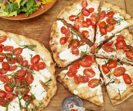 5/5 Healthy Grilled Pizza – Easy, healthy, and delicious. I make it at least onc
