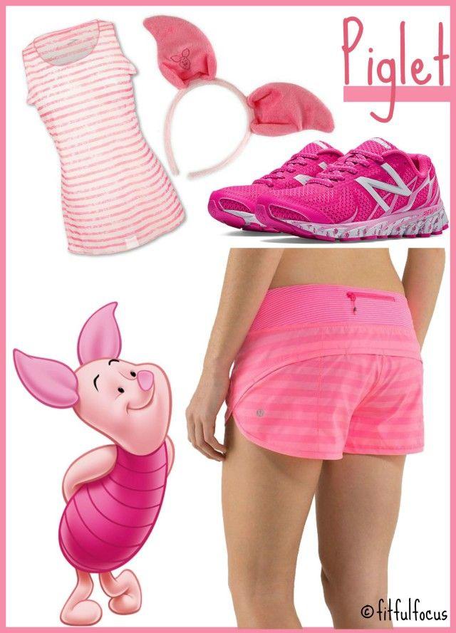 Winnie+the+Pooh,+Piglet,+RunDisney,+Running+Costume