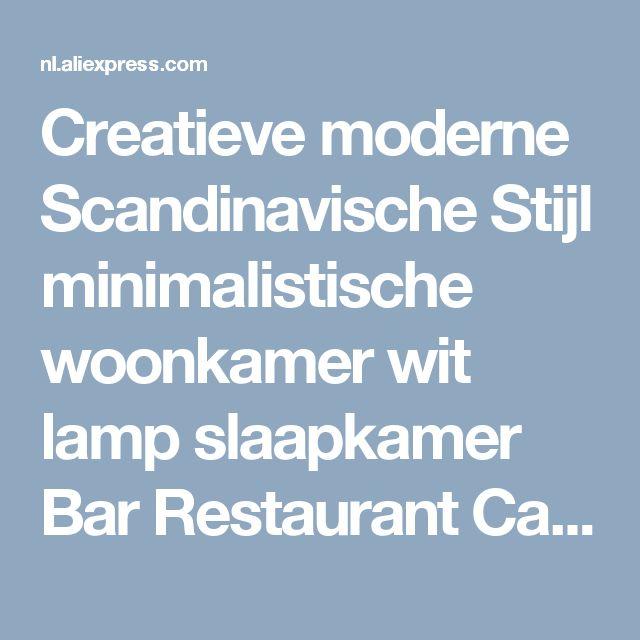 Creatieve moderne Scandinavische Stijl minimalistische woonkamer wit lamp slaapkamer Bar Restaurant Cafe Bar kroonluchter in Creatieve moderne Scandinavische Stijl minimalistische woonkamer wit lamp slaapkamer Bar Restaurant Cafe Bar kroonluchter van Hanglampen op AliExpress.com | Alibaba Groep