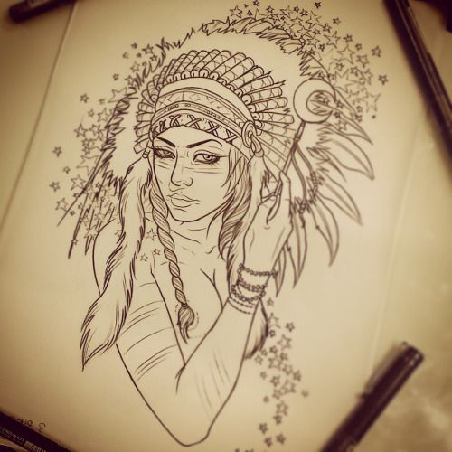 Have this little lady available to be tattooed. Email me at daveolteanuart@hotmail.com or contact me @pacificink_terrigal