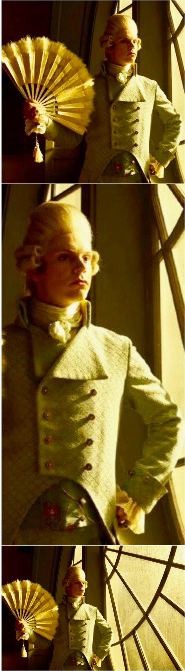 NEW Unreleased Promotional Still of Evan Peters as Edward Philippe Mott in American Horror Story: My Roanoke Nightmare. | Follow rickysturn/evan-peters for the latest EP news and Pins