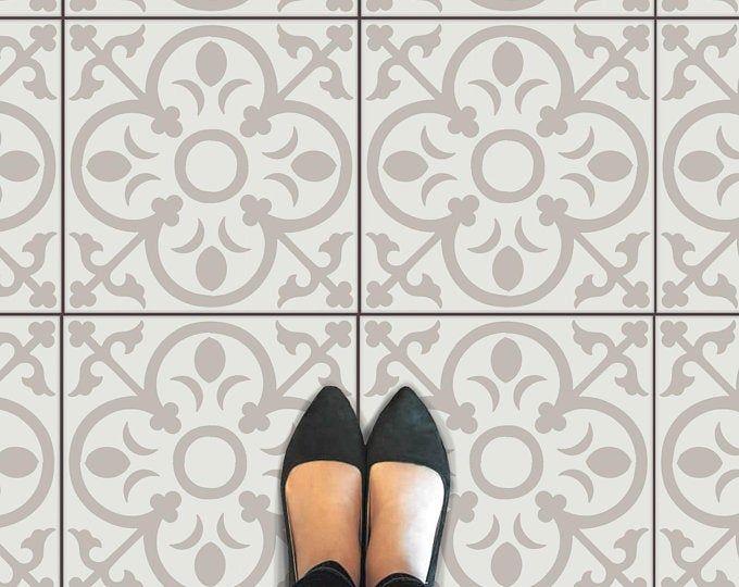 Tile Sticker For Kitchen Bath Floor Wall Waterproof Etsy Med Bilder