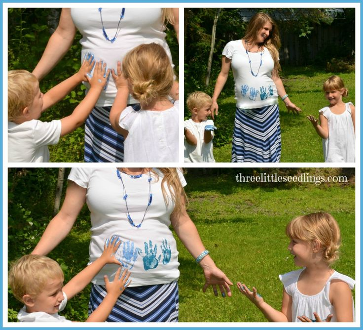 DIY Birth Announcement Photo Shoot - Great tip for taking pictures outdoors - www.threelittleseedlings.com