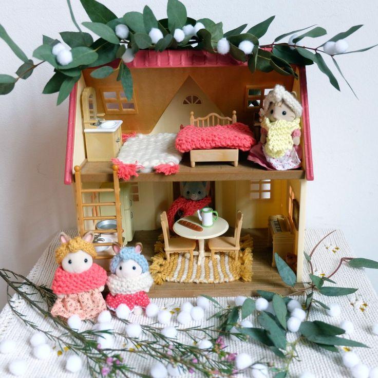 les 25 meilleures id es de la cat gorie familles sylvanian sur pinterest diy maison poup e. Black Bedroom Furniture Sets. Home Design Ideas