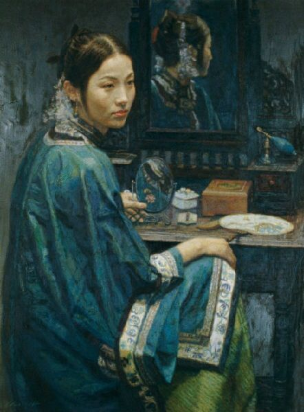 33 best China Realism painter Chen Yifei images on Pinterest