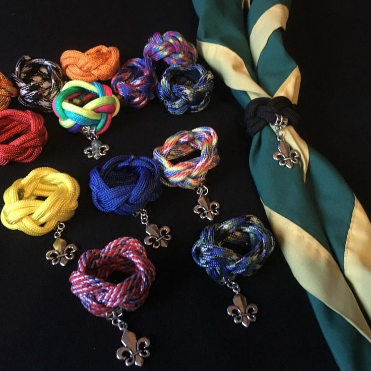 "0 Likes, 1 Comments - Ginette Lowther (@whoslovinu_yarns) on Instagram: ""#woggle #neckerchief #necker"""